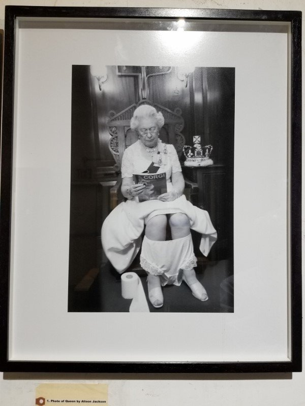Original photo of Queen by Alison Jackson