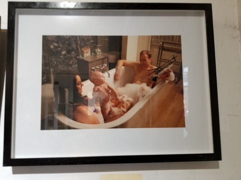 Original photo of Kate and William by Alison Jackson