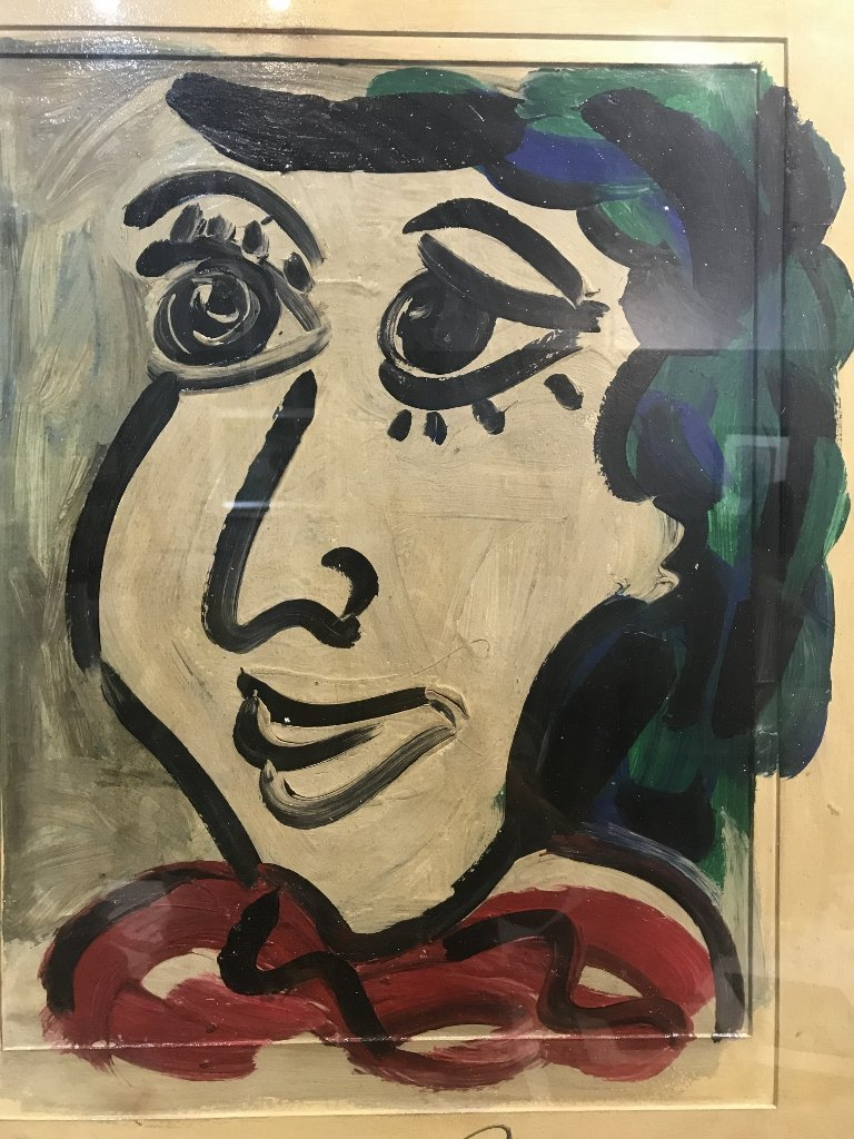 Large oil on board of face by Peter Robert Keil, 1964 - 3