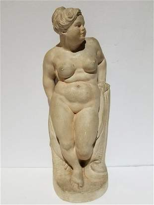 Plaster of nude by Joseph Larkowski Boulton