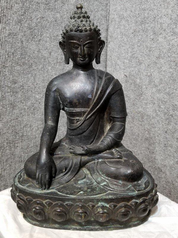 Bronze Buddha, circa 1940