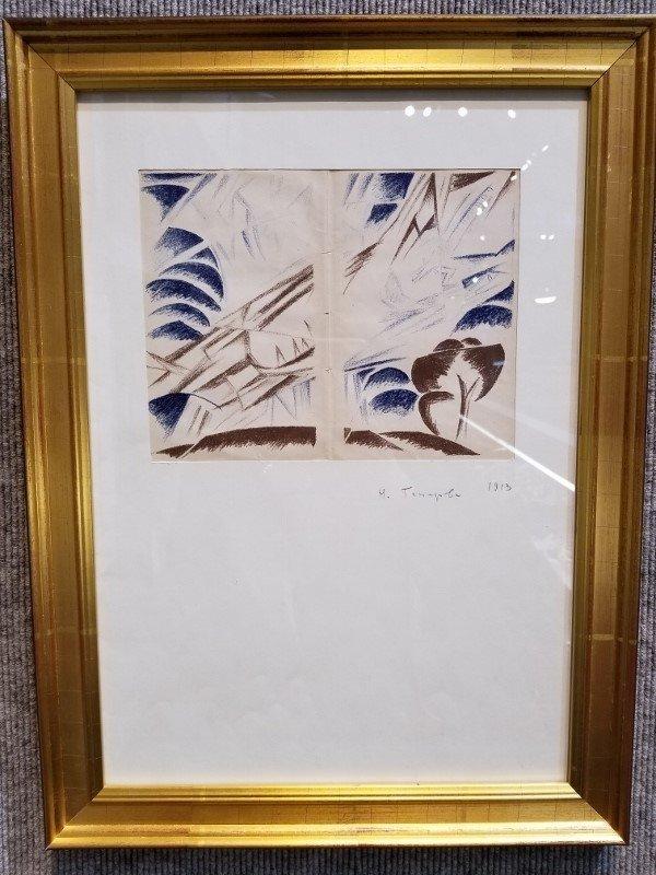 Print by Natalia Gonchorova, Ambassador Estate