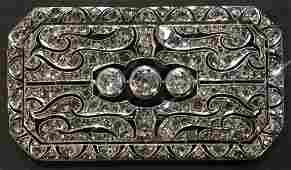 14k diamond brooch Edwardian style 96 dwts