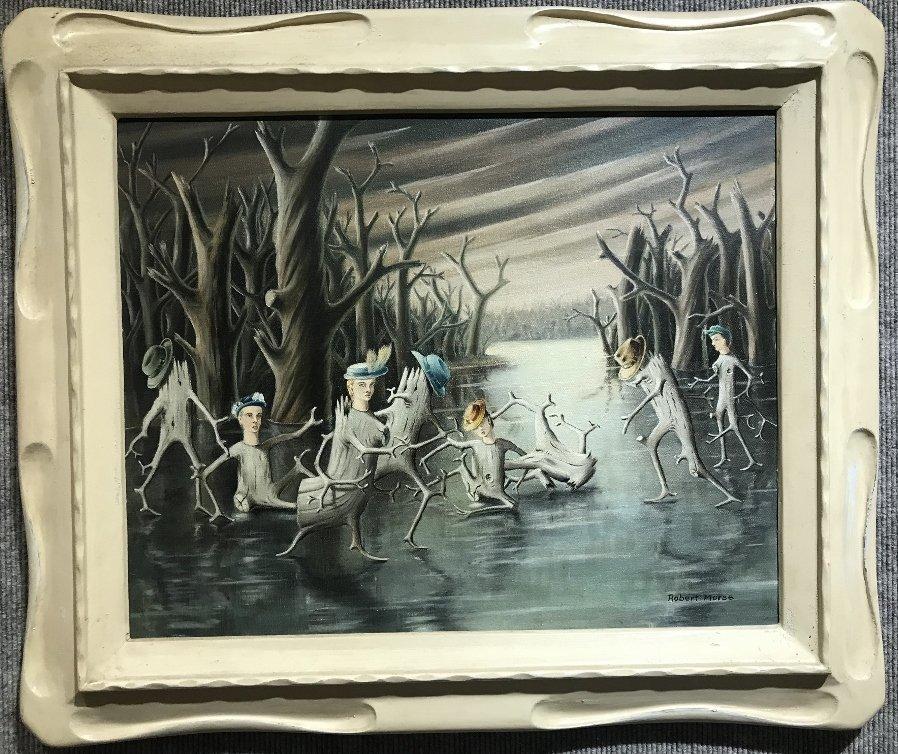 """Dance of the Stump people"", Robert Morse,c.1950"