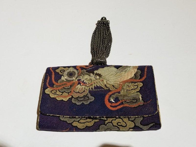 Two Japanese purses, c.1900 - 2