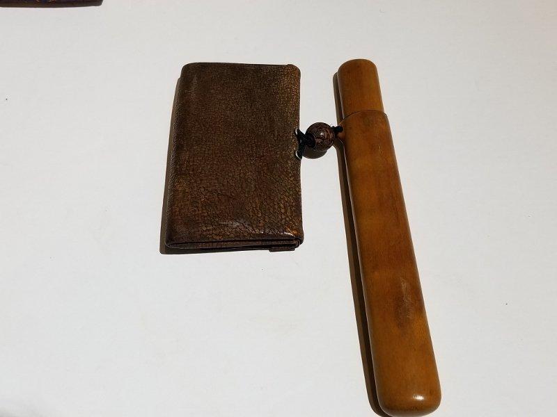 Two Japanese purses, c.1900 - 5