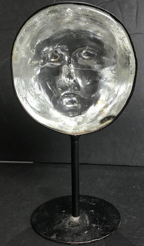 Glass face by Erik Hoglund for Kosta Boda - 4