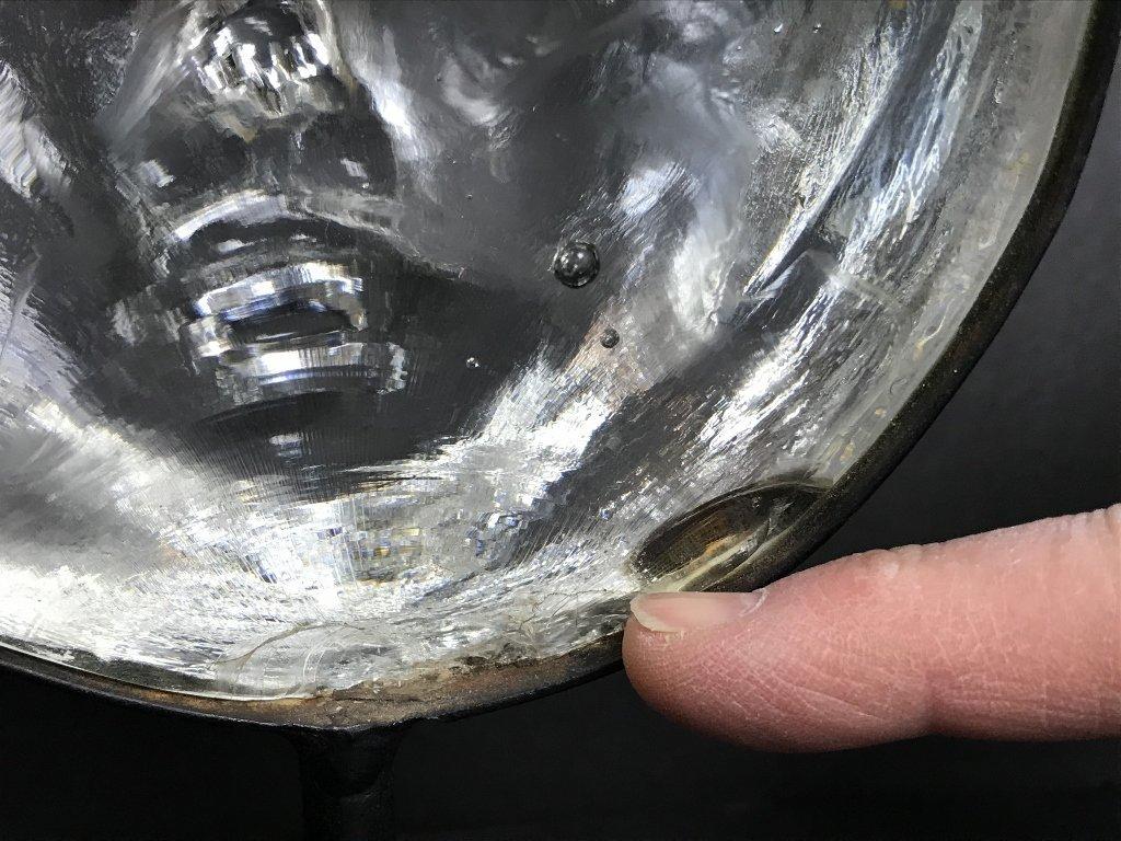 Glass face by Erik Hoglund for Kosta Boda - 5