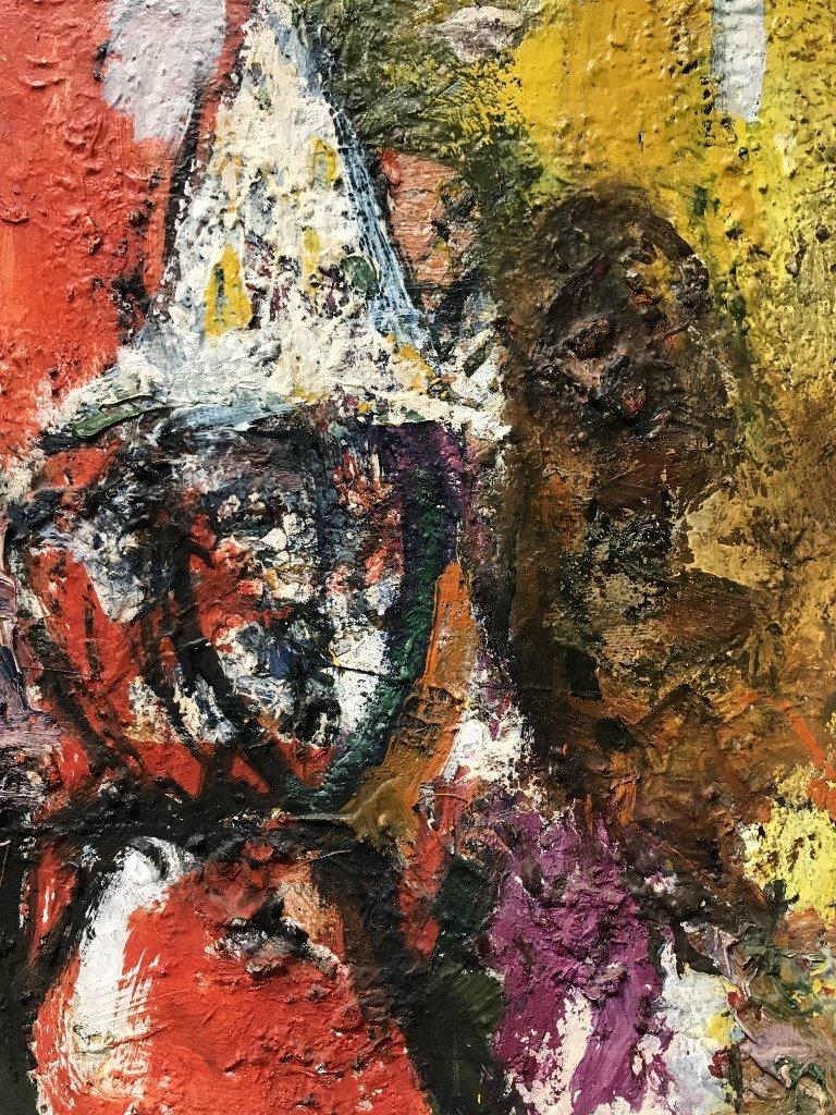Vladimir Lebedev painting of a clown - 2