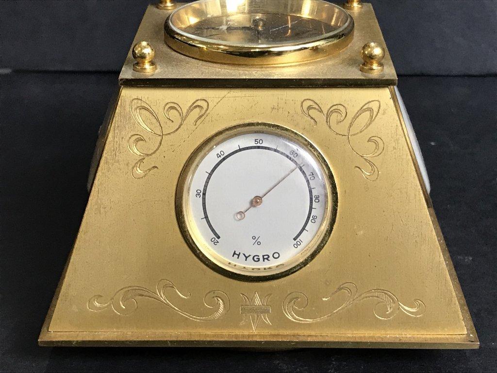 Gubelin desk clock, circa 1965 - 3