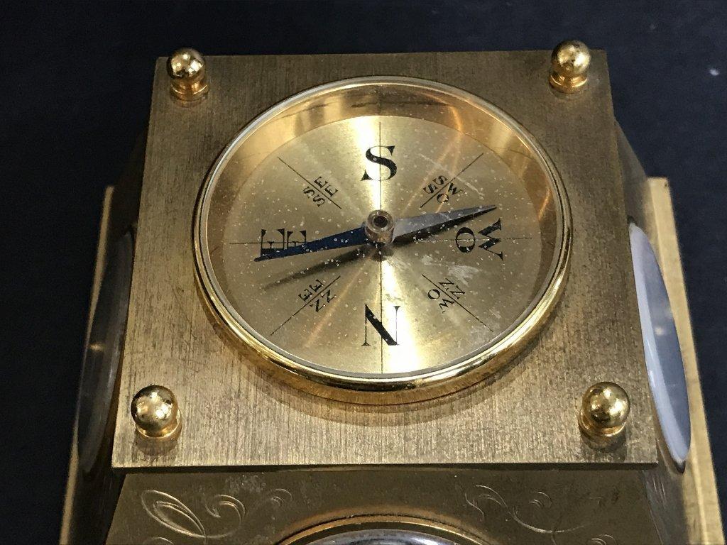 Gubelin desk clock, circa 1965 - 6