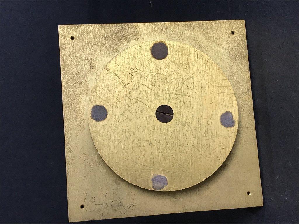 Gubelin desk clock, circa 1965 - 7