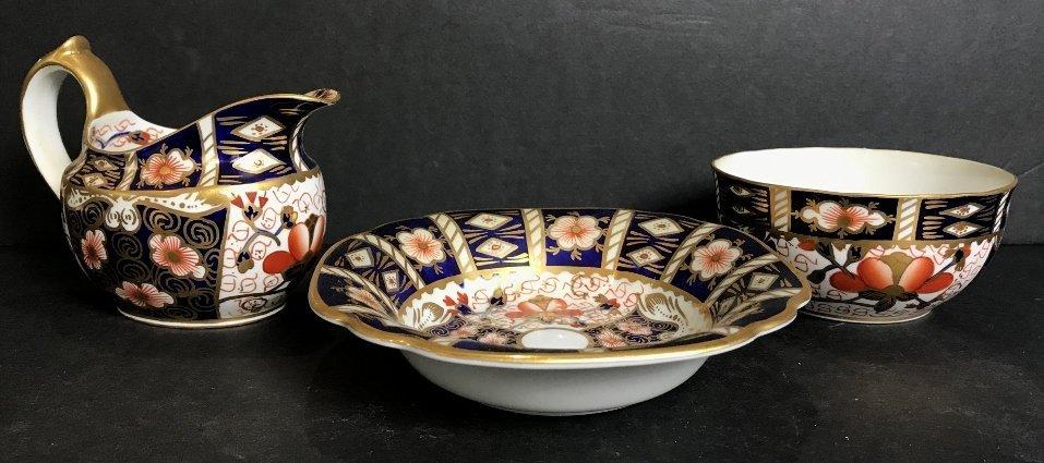 Royal Crown Derby items(three)