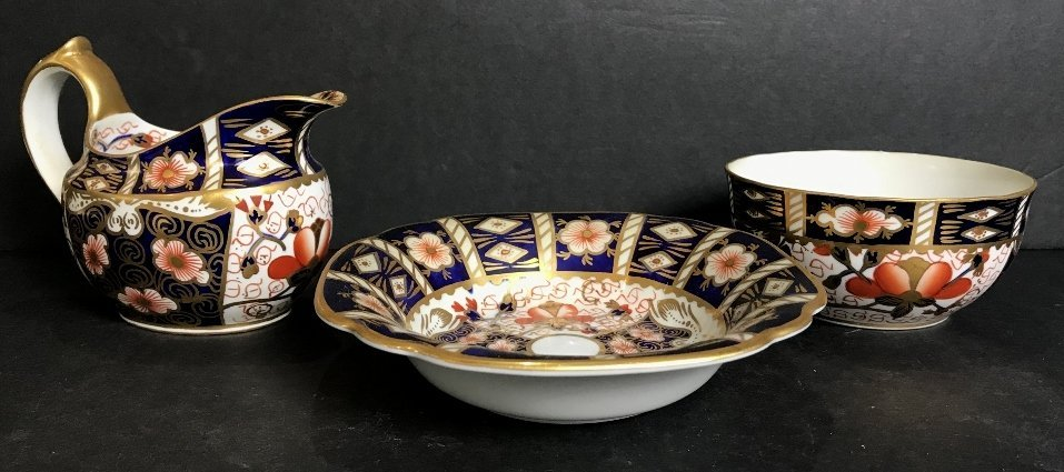 Royal Crown Derby items(three)