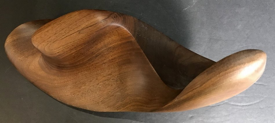 Pepperdine wood sculpture - 3