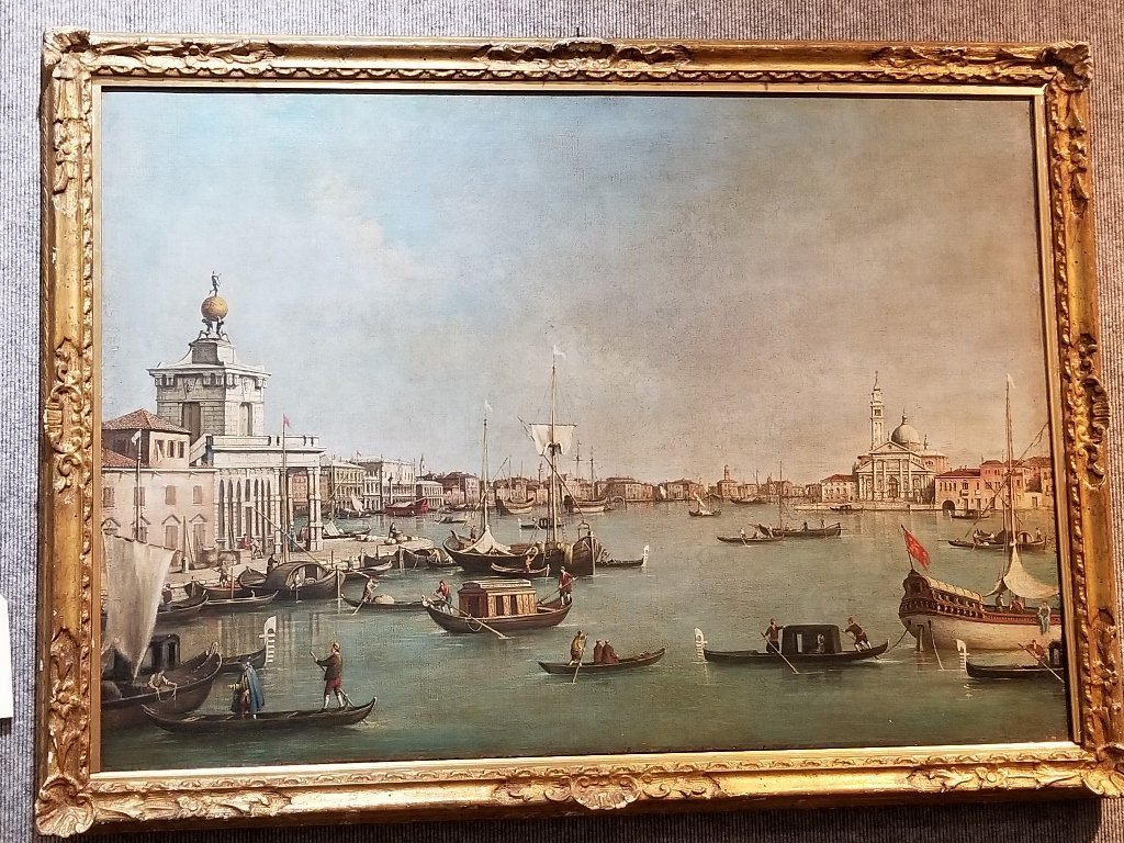 Large painting of the Grand Canal, 18th/19th c