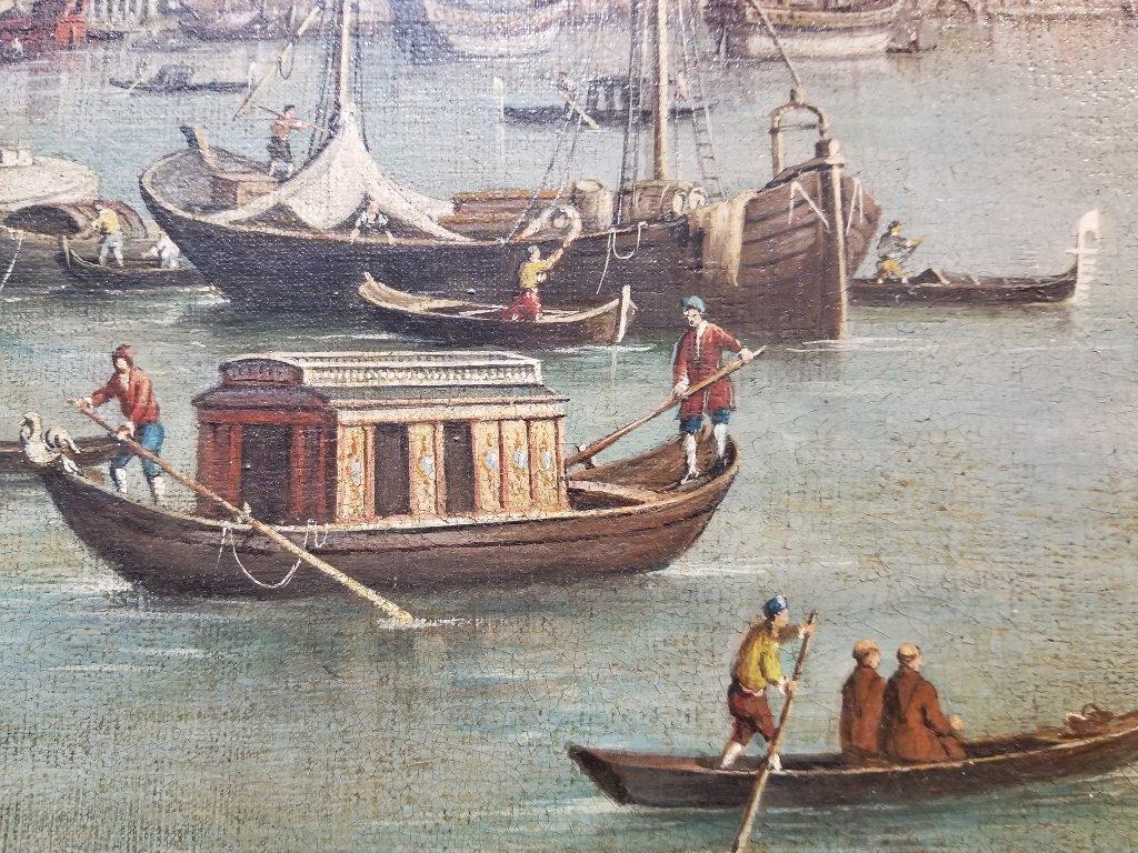 Large painting of the Grand Canal, 18th/19th c - 3