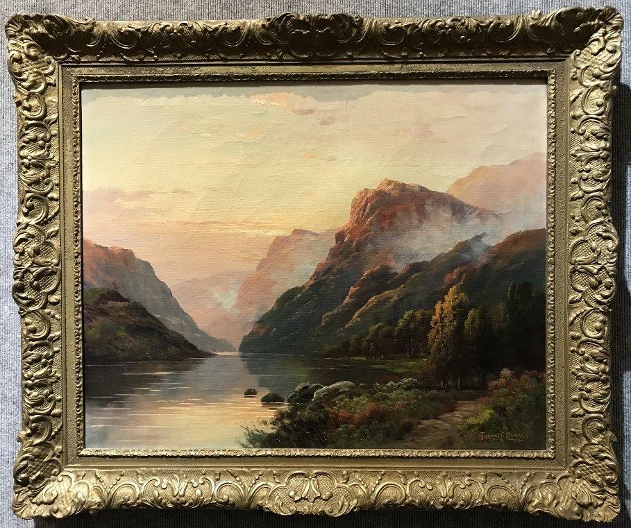 Landscape by Thomas C Blake(American), c.1920
