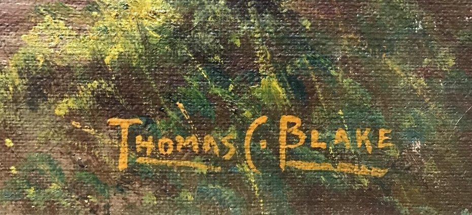 Landscape by Thomas C Blake(American), c.1920 - 2