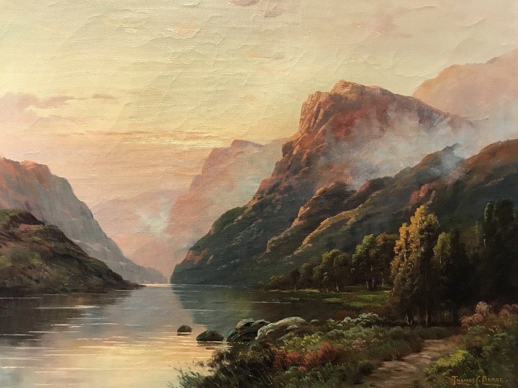 Landscape by Thomas C Blake(American), c.1920 - 3