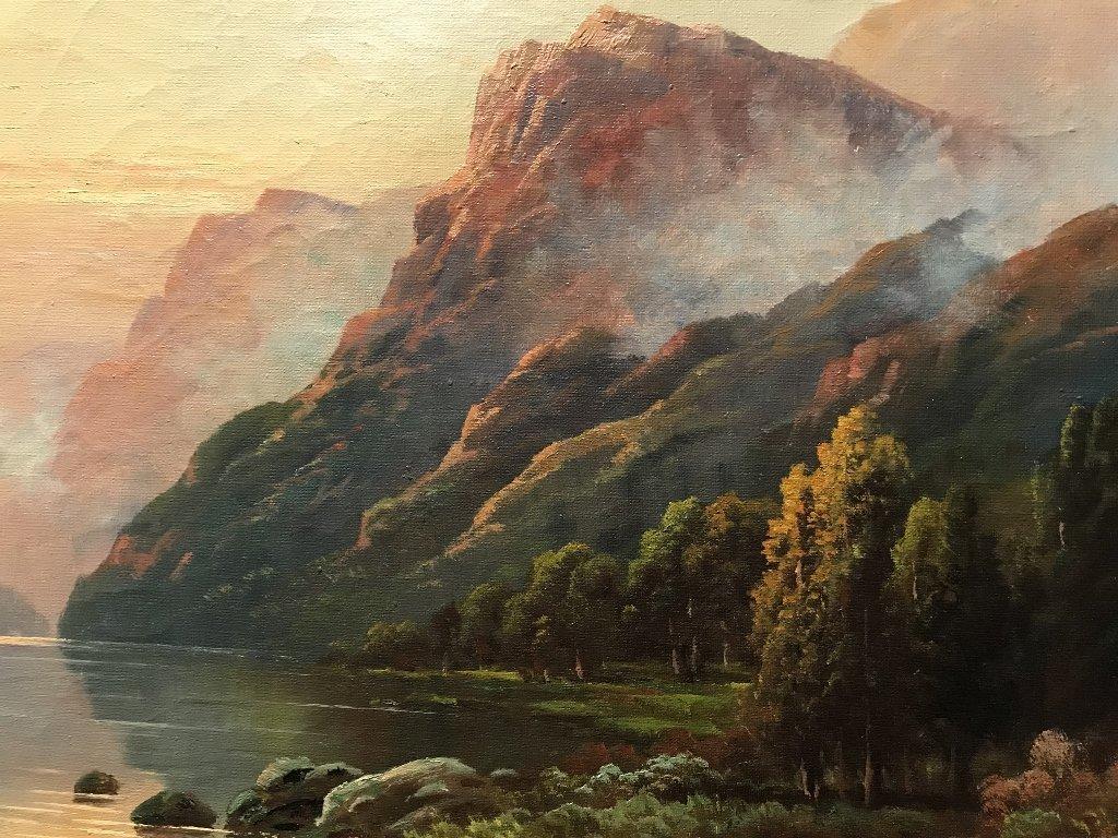 Landscape by Thomas C Blake(American), c.1920 - 4