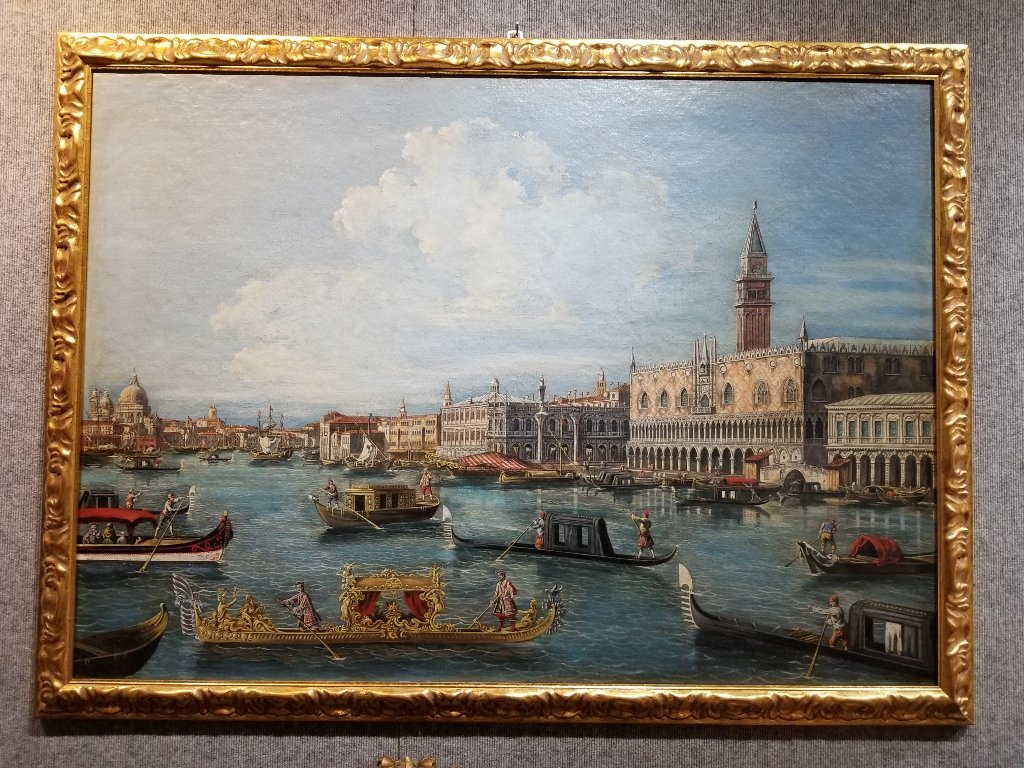 Painting of Doge's Palace, Venice, 18th/19th c