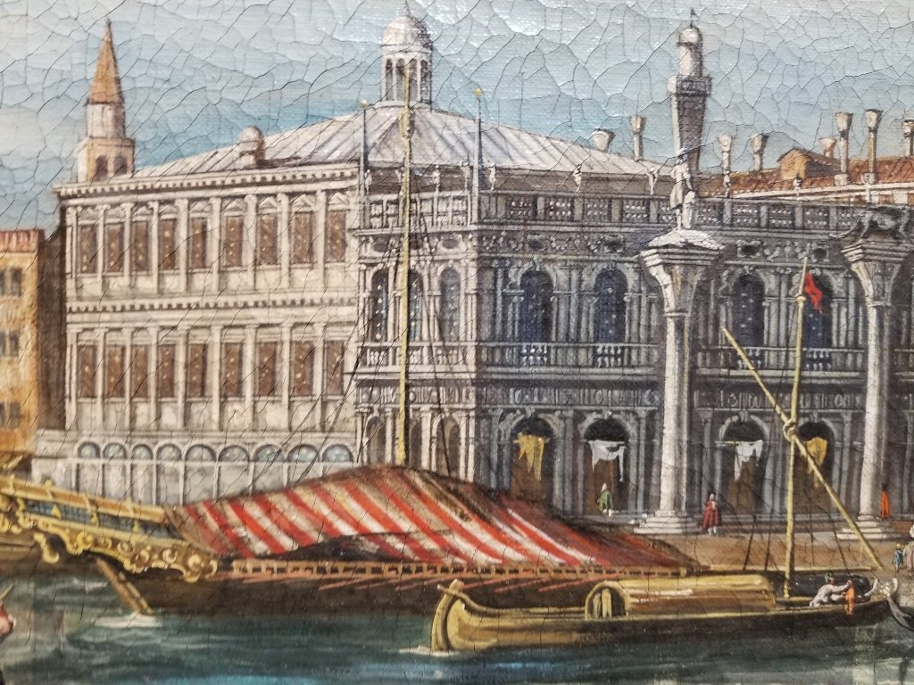 Painting of Doge's Palace, Venice, 18th/19th c - 6