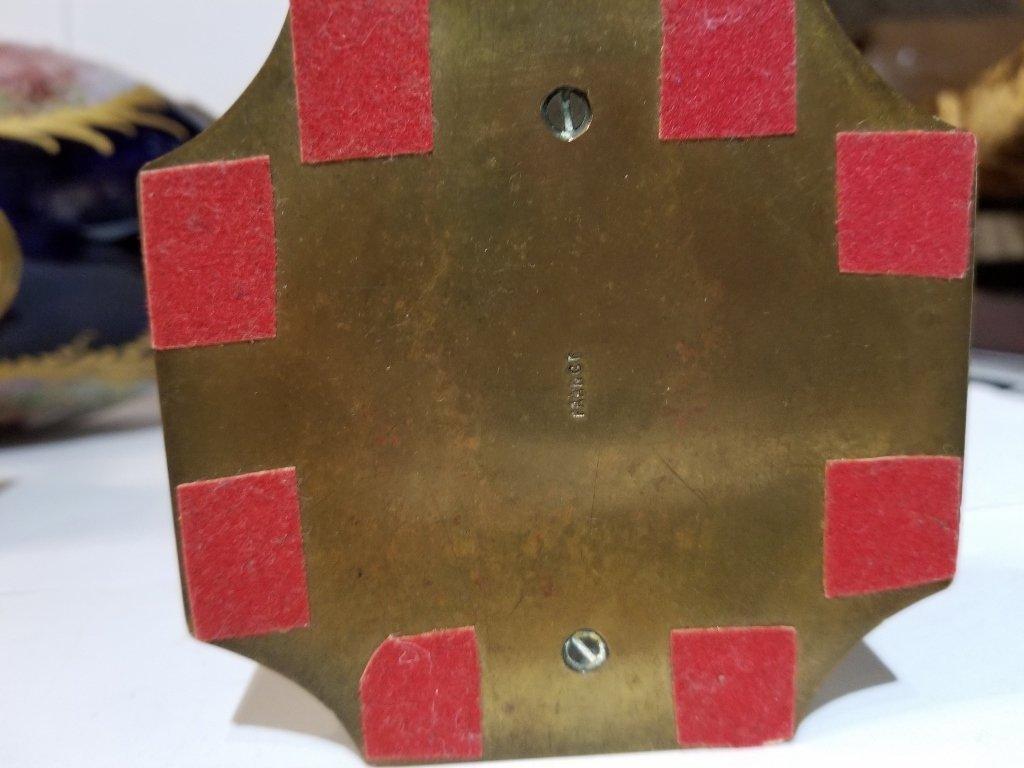 Sevres type 3 piece cobalt garniture set, c.1900 - 8