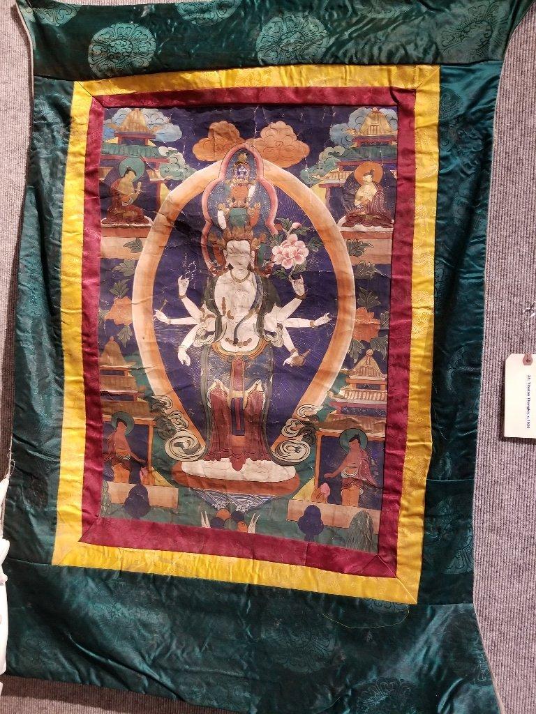 Tibetan Thangka, c.1920