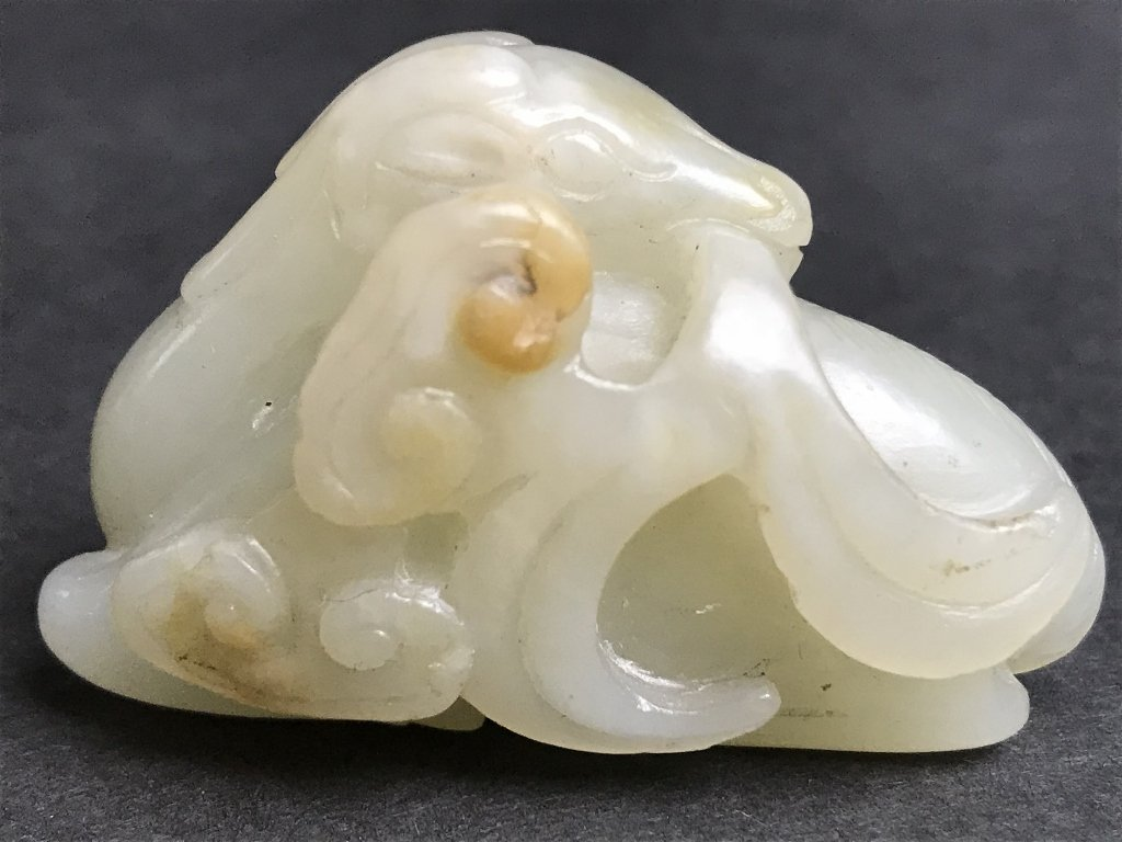 Two 19th century jade carvings - 4