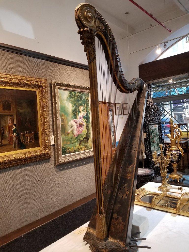 Renault and Chatelain harp, 1780, Met Museum - 2