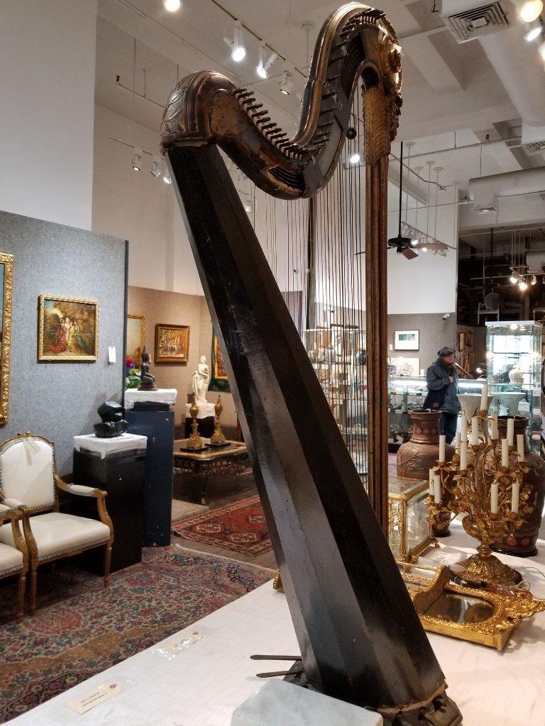 Renault and Chatelain harp, 1780, Met Museum - 3