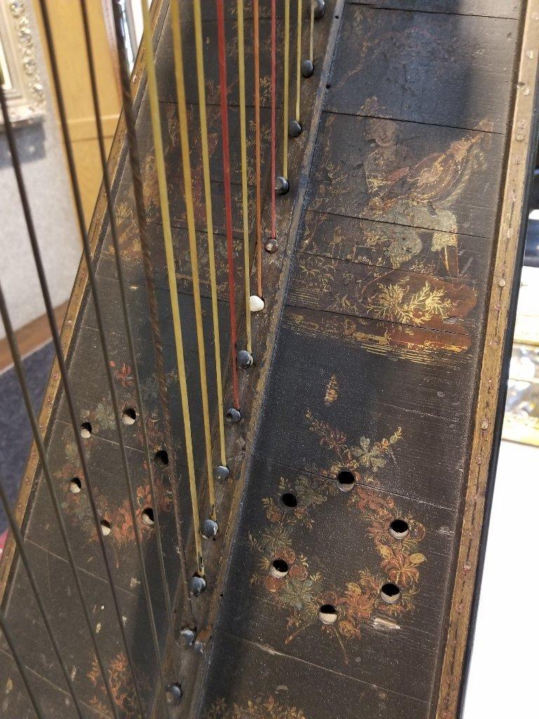 Renault and Chatelain harp, 1780, Met Museum - 4