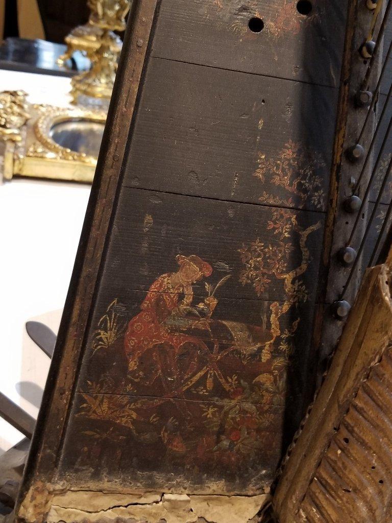 Renault and Chatelain harp, 1780, Met Museum - 5