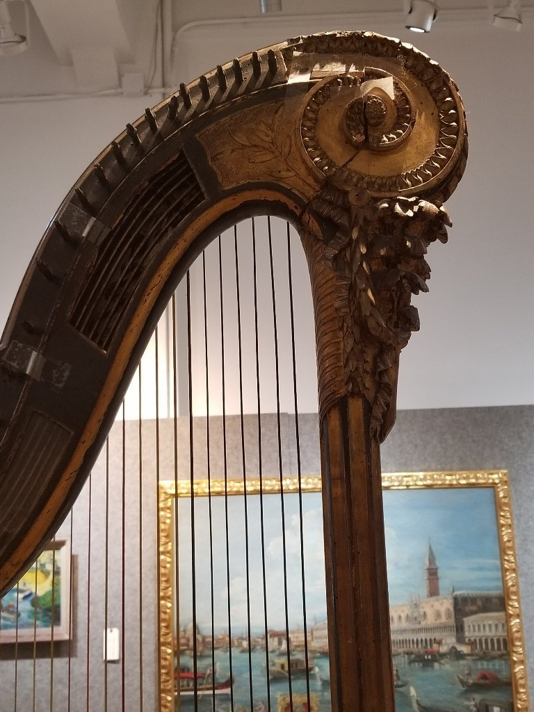 Renault and Chatelain harp, 1780, Met Museum - 6