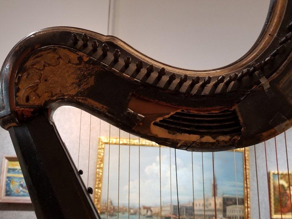 Renault and Chatelain harp, 1780, Met Museum - 9