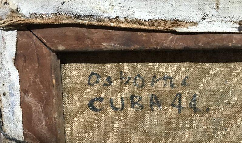 Painting of Cuba by Osborne, c.1944 - 2