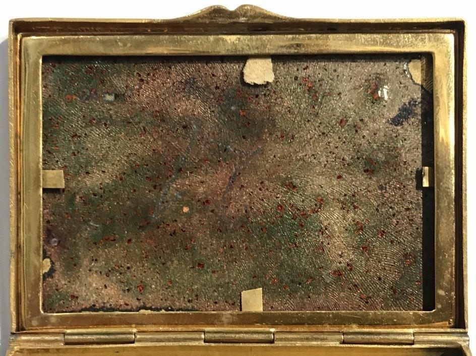 Enamel box, circa 1910 - 4
