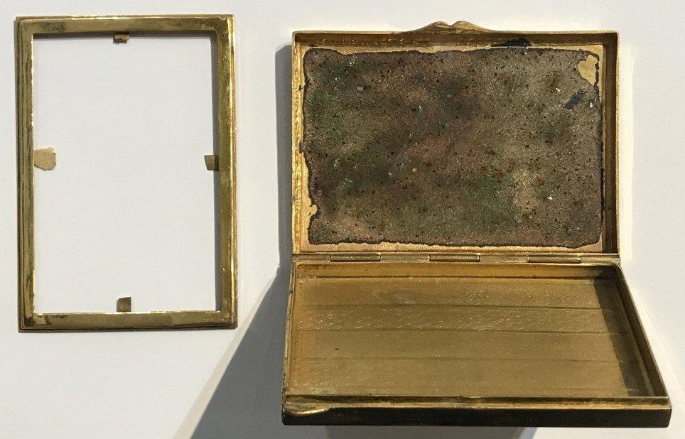 Enamel box, circa 1910 - 5