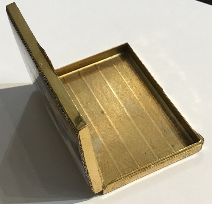 Enamel box, circa 1910 - 8