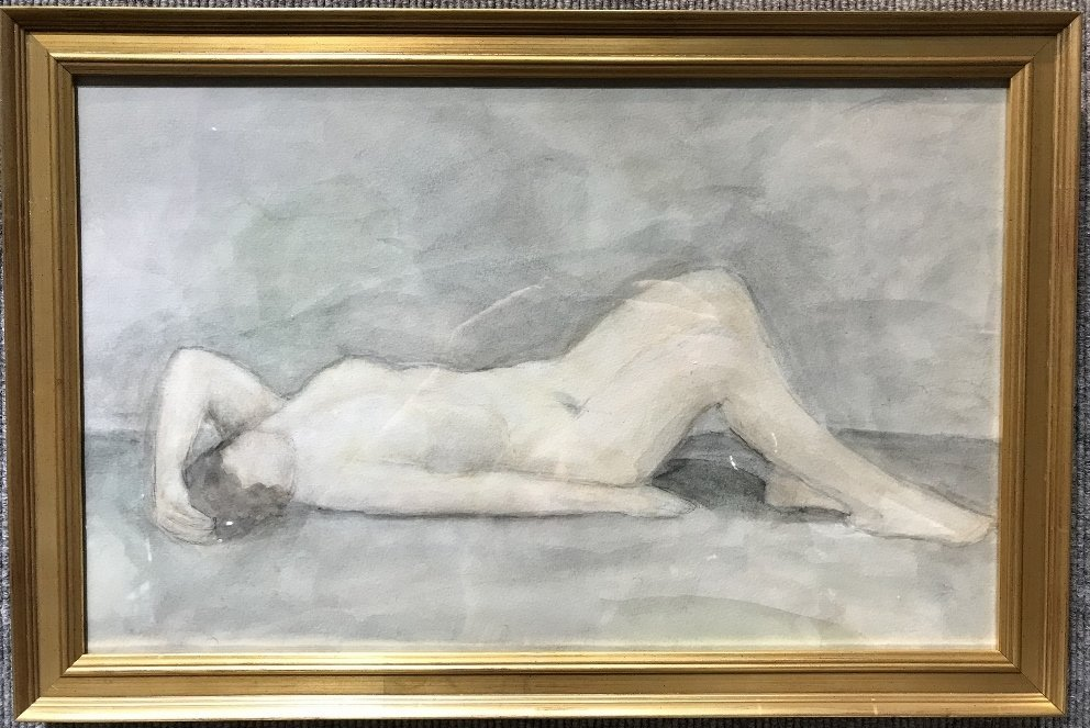 WC of nude by Vladimir Vejsberg, Ambassador Estate
