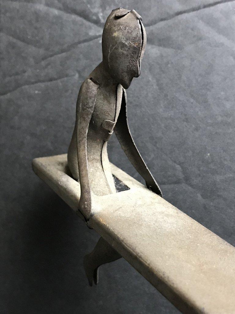 Unusual metal toy - 3