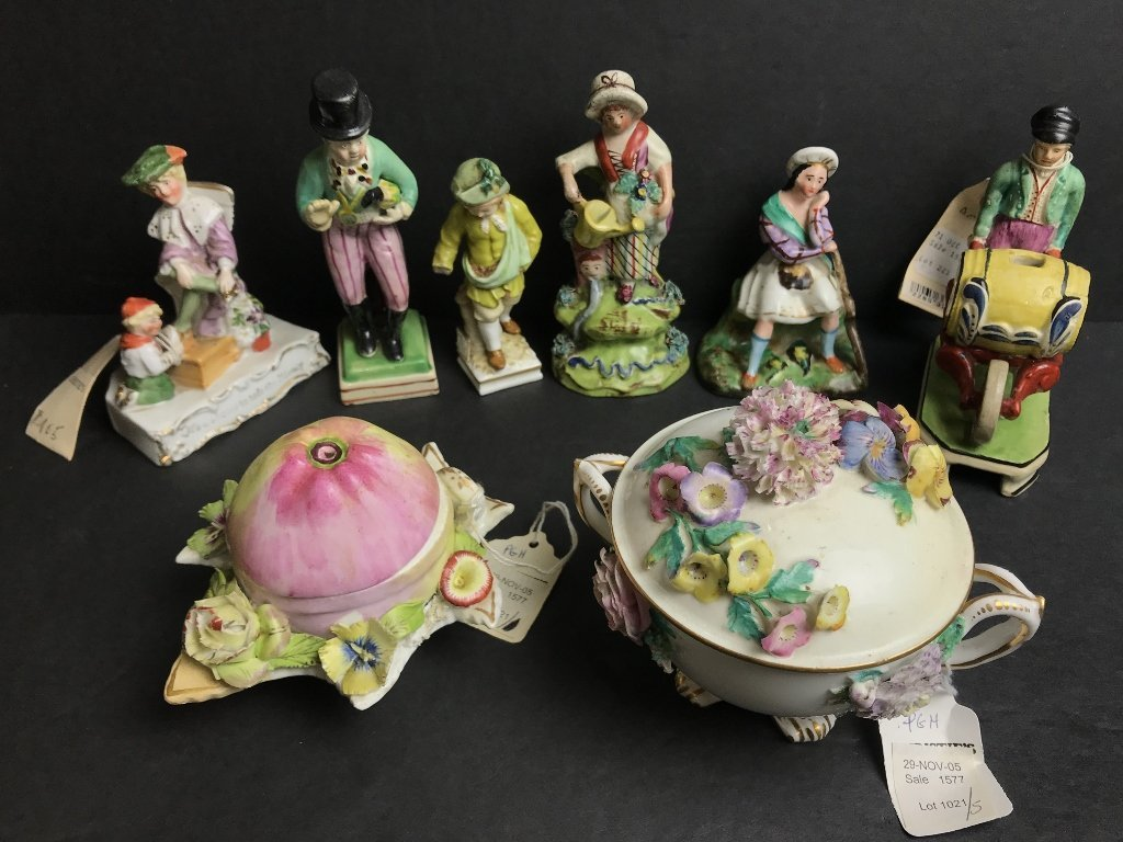 Miscellaneous English ceramic figurines
