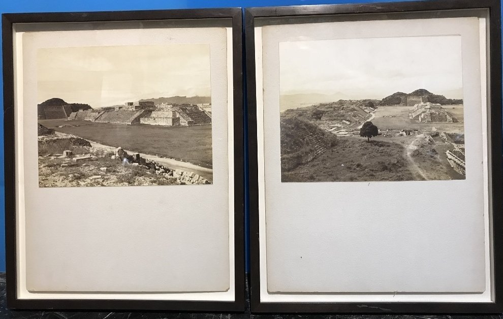 Two old photographs, prob South America