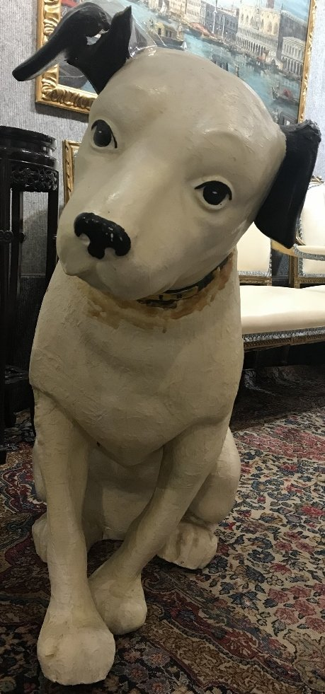 RCA Victor dog, Nipper,with damage