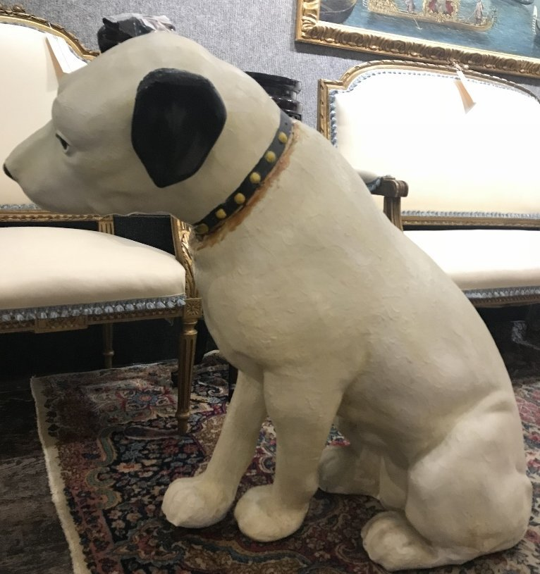 RCA Victor dog, Nipper,with damage - 3