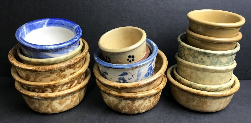 Early American ceramic pots
