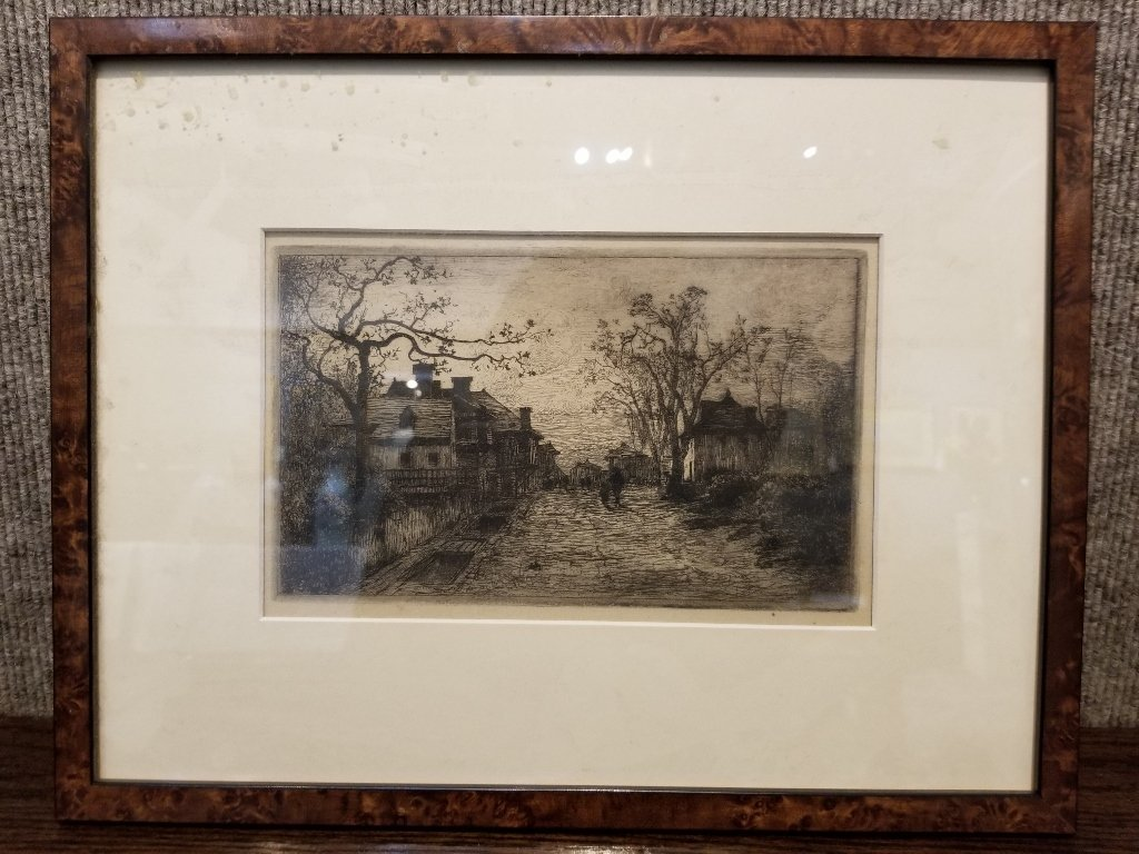 Case lot-Adolphe Appian etching