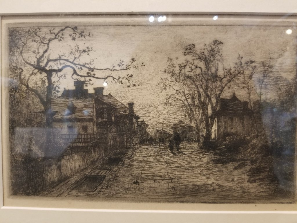 Adolphe Appian etching - 2