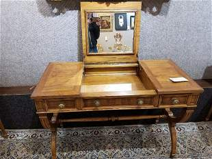 Wood poudreuse(vanity desk), circa 1940